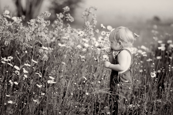 Smelling Wildflowers