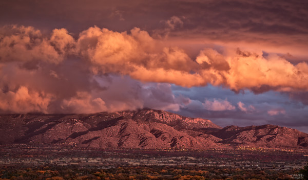 Photograph of Sandia Skyscapes #9, d'Ellis Photographic Art, Bill & Elsa