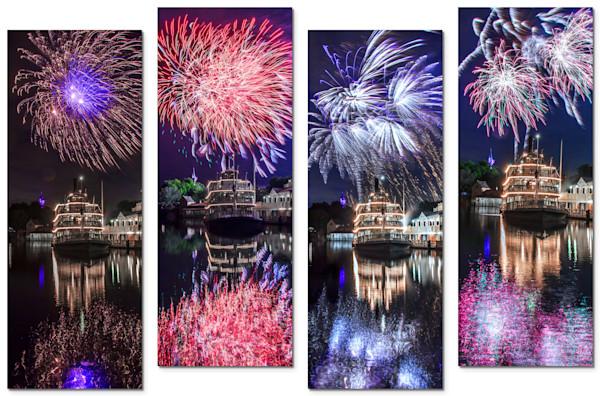 4-Piece Disney Canvas Wall Art - Liberty | William Drew