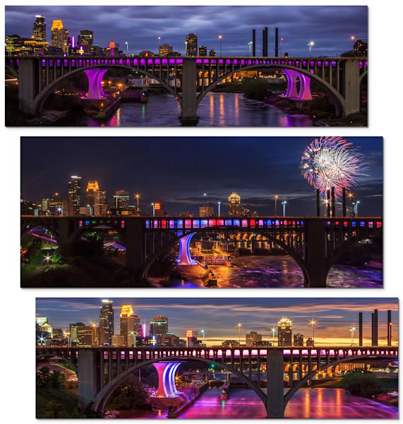 Skyline - Minneapolis Panel Art | William Drew Photography