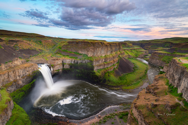 Palouse Falls II (171743LNND8) Fine Art Waterfall Photograph for Sale as Print