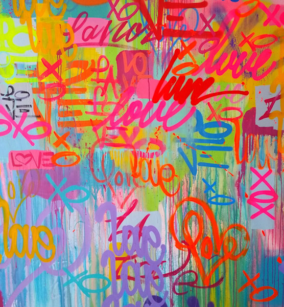 Tags 3 | Graffiti Inspired Art by Karlos Marquez