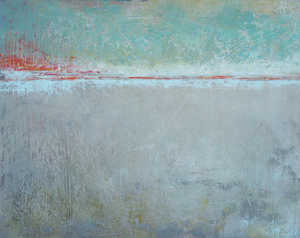 Long Goodbye - Contemporary Artwork - Abstract Landscape Paintings