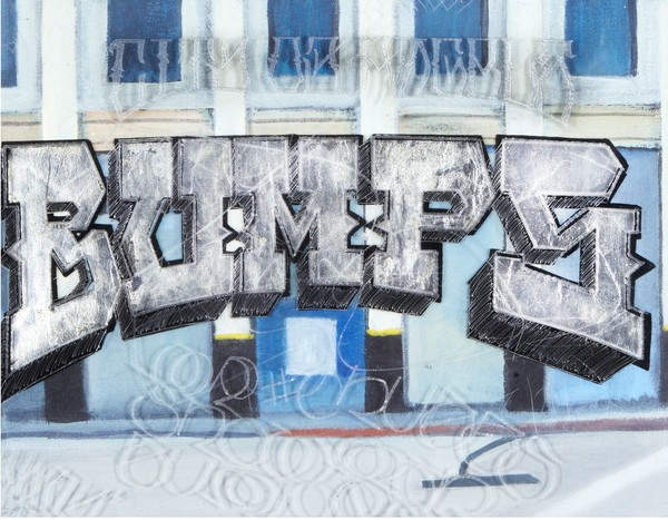 L.A. BUMPS | Graffiti Inspired Collaboration with Karlos Marquez