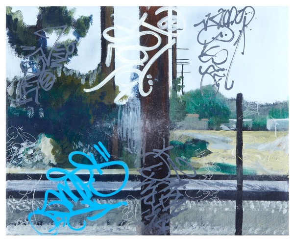 Track and Field | Graffiti Inspired Collaboration with Karlos Marquez