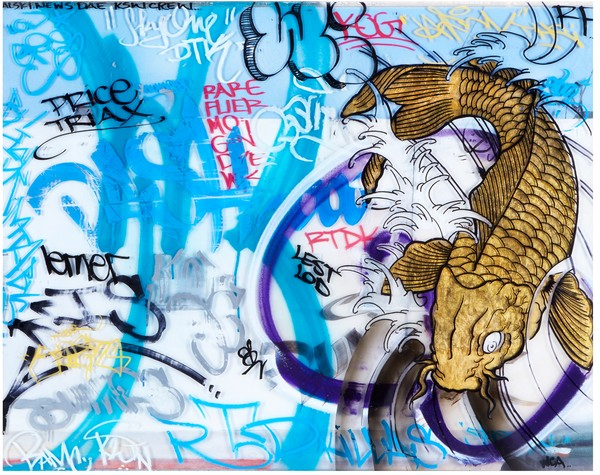 Swimming | Graffiti Inspired Collaboration with Karlos Marquez