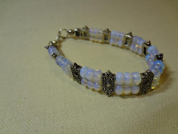 Jewelry, semi-precious, bracelet, hand made, peggy pike,