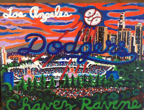 Los Angeles Dodgers at Chavez Ravine