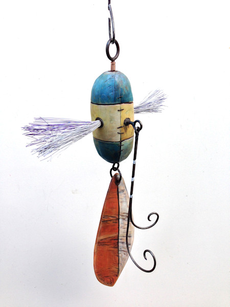Purchase original fishing lure sculpture