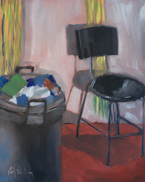 Studio Stool and Trash
