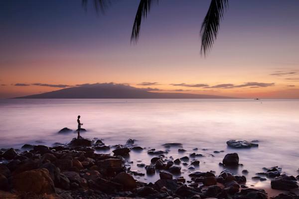 Lahaina Sunset Fisherman 2