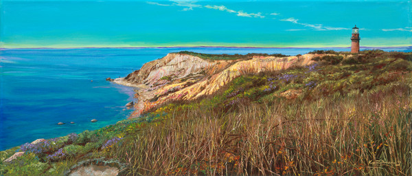 Painting of the Gay Head Cliffs in Aquinnah by Kip Richmond