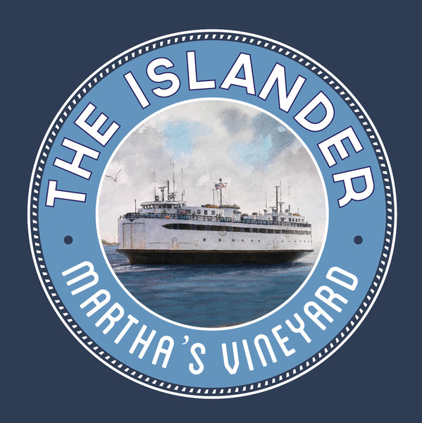Islander Ferry poster of famous Martha's Vineyard Ferry.