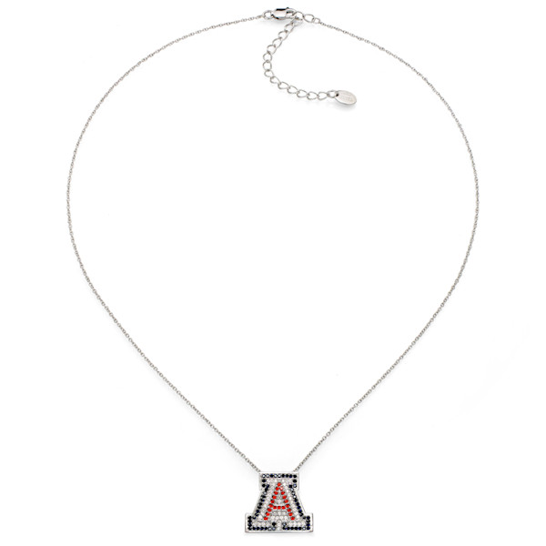 University of Arizona UA Silver Necklace | Southwest Jewelry