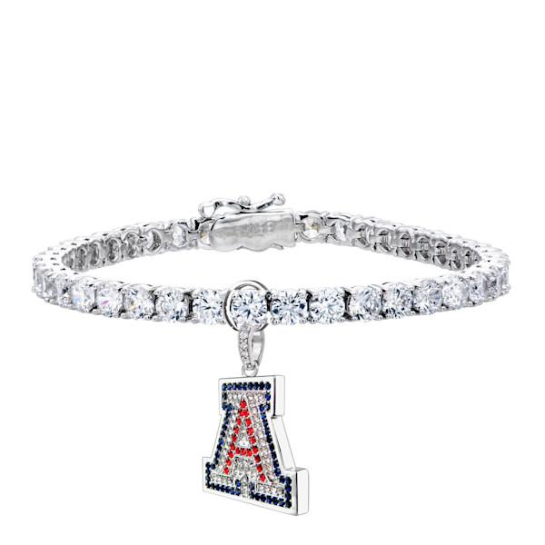 University of Arizona Charm & Tennis Bracelet | Jewelry