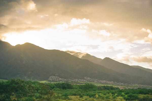 Wailuku Sunset Maui