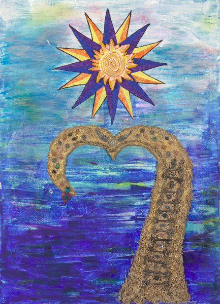 Courage Recovery Art by Robin M. Gilliam