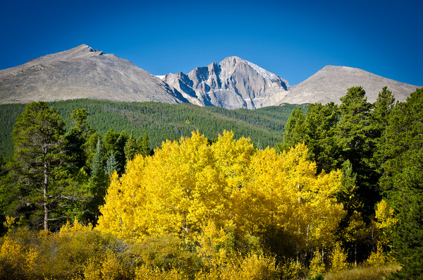 Colorado Photographic Prints of Longs Peak in the Fall