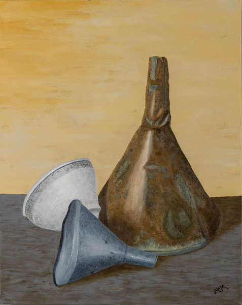 Three Funnels by Garry McMichael