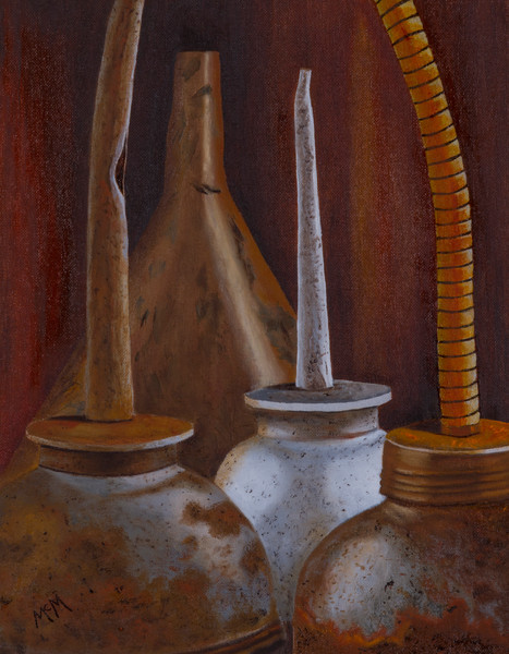 Three Funnels Natura Morta by Garry McMichael
