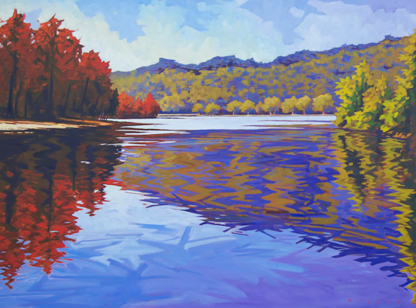 Shop for fine art prints like Convergence, from oil on canvas painting by Matt McLeod at Matt McLeod Fine Art Gallery.
