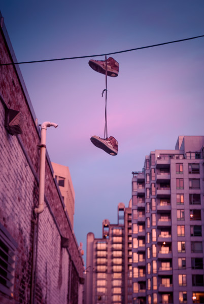 The abandoned shoe photographs of fine art photographer Wayne Stadler.