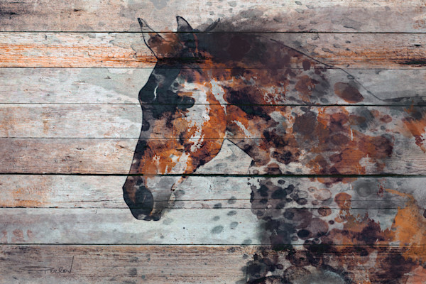 Horse Art Paintings and Oversized Art Prints for Sale. Abstract Horse Wall Art. Farmhouse Rustic Horse Paintings for sale.