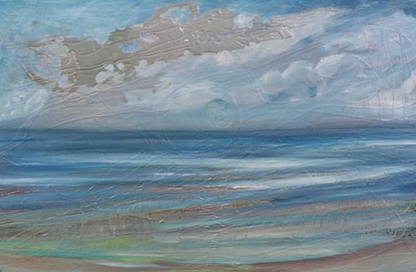 Silver Skies by Kristyn Watterworth | SavvyArt Market original painting