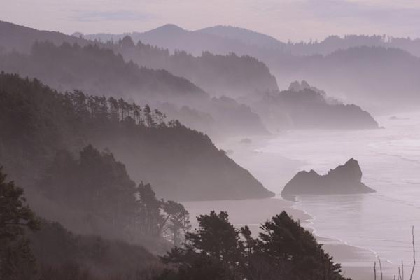 Oregon Coast Layers