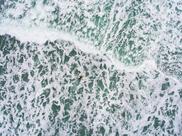 Oregon Coast Water Wall Aerial