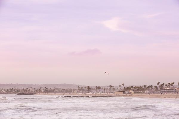 Ocean Beach Landscape - San Diego