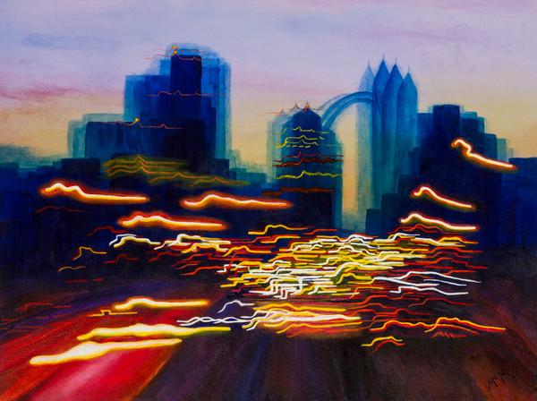 urban landscape fine art