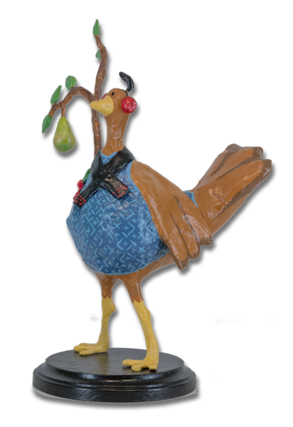 Purchase a funny Partridge and a Pear Tree for your holiday decor!