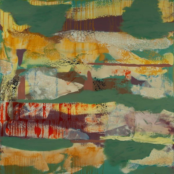 Fortuitous Encounters and Pleasant Surprises abstract painting.