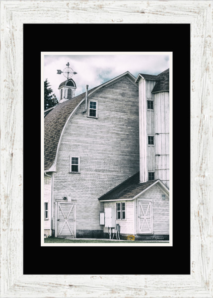 Dahmen Barn (171751BFND8) Fine Art Framed Paper Photo Print for Sale