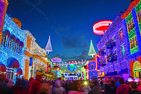 Osborne Family Lights Photograph for Sale as Fine Art