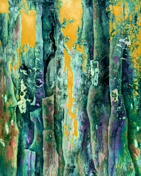 Hot Sky in Enchanted Forest 4 by Gayle Faulkner