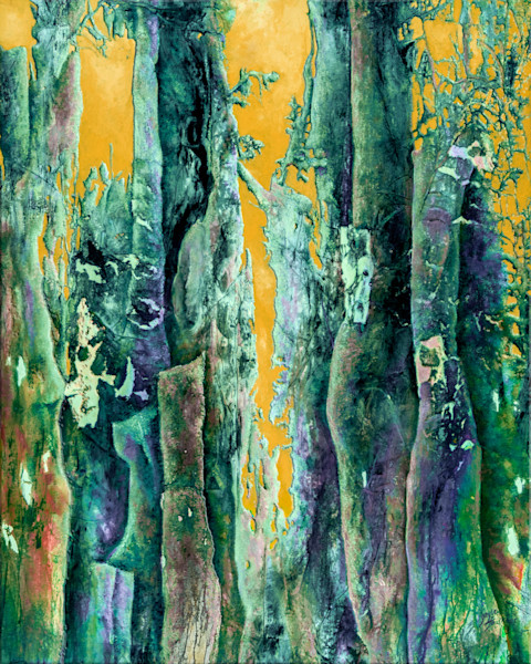Gayle Faulkner's Enchanted Forest 10 is a fun and fanciful interpretation of forests around the world.