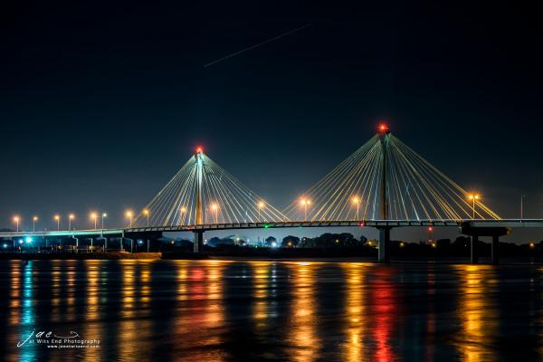 Clark Bridge at Night 8-Edit-2