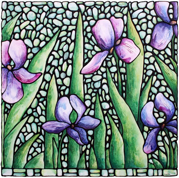 iris bloom - Original