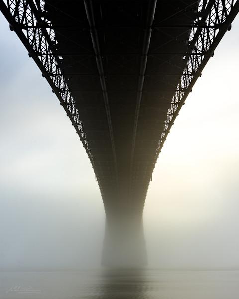 Under Eads Bridge