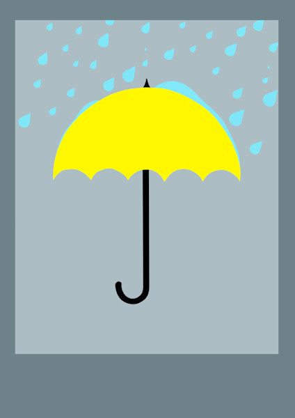 Enjoy those rainy days by being prepared with an umbrella