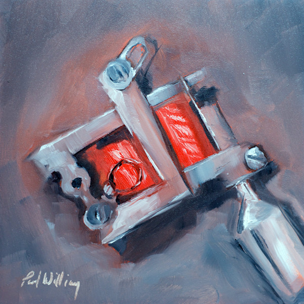 Tattoo Machine Painting by Paul William | Still Life Art