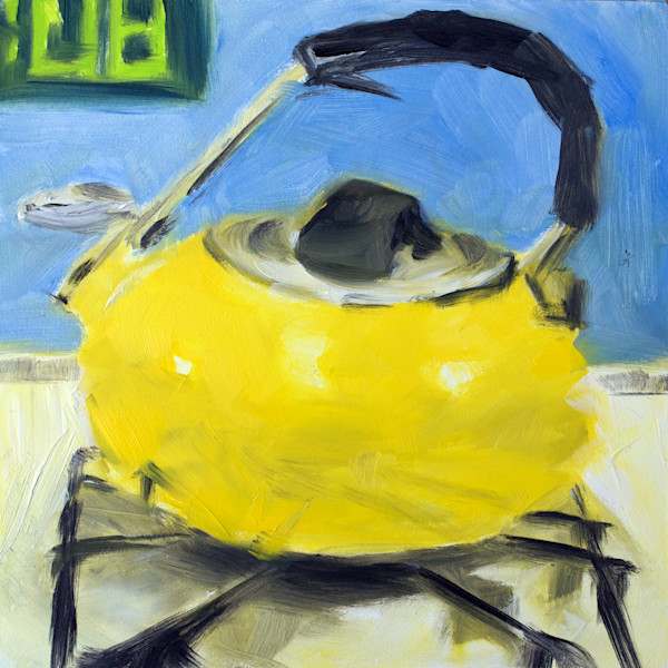 Tea Kettle painting by Paul William | Still life art