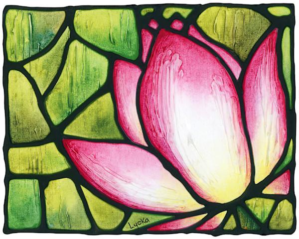 Lotus Strength Original Painting
