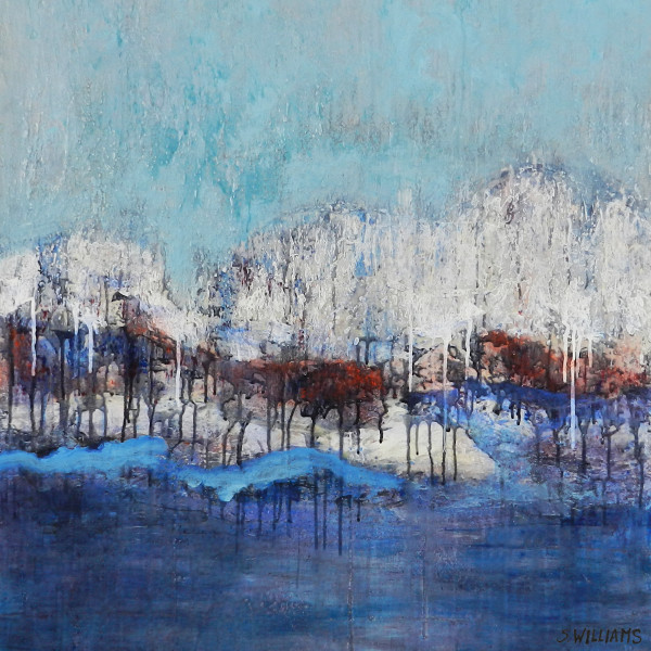 Abstract Horizons Art & Paintings by Shirley Williams for Sale