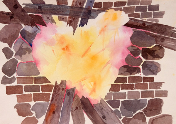 """Break Into My Heart"" by Judy Johnson 