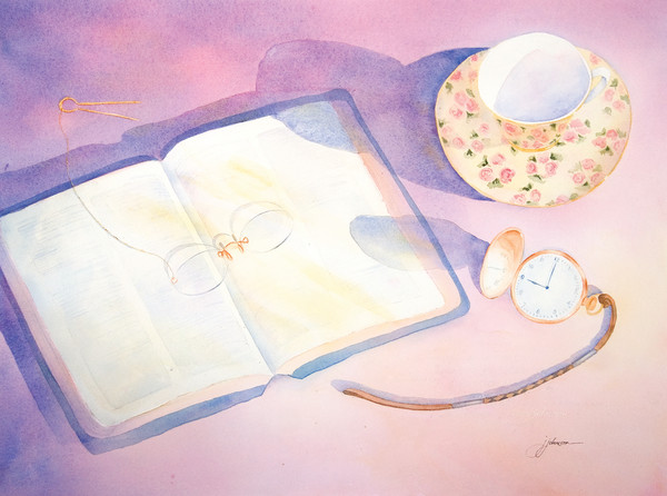 """Nine O'Clock In The Morning"" by Judy Johnson 