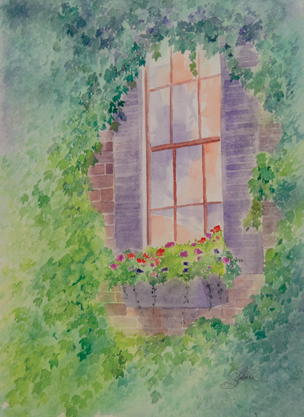 """Ivy Retreat"" by Judy Johnson 