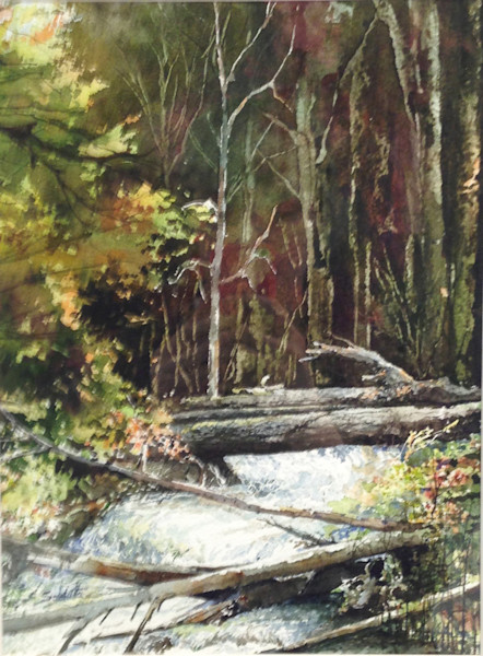 Logs by Anthony Saldutto | SavvyArt Market original painting